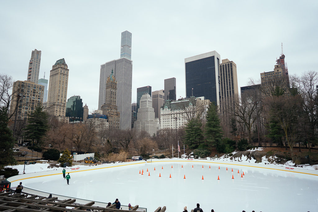 Ice Rink in Central Park