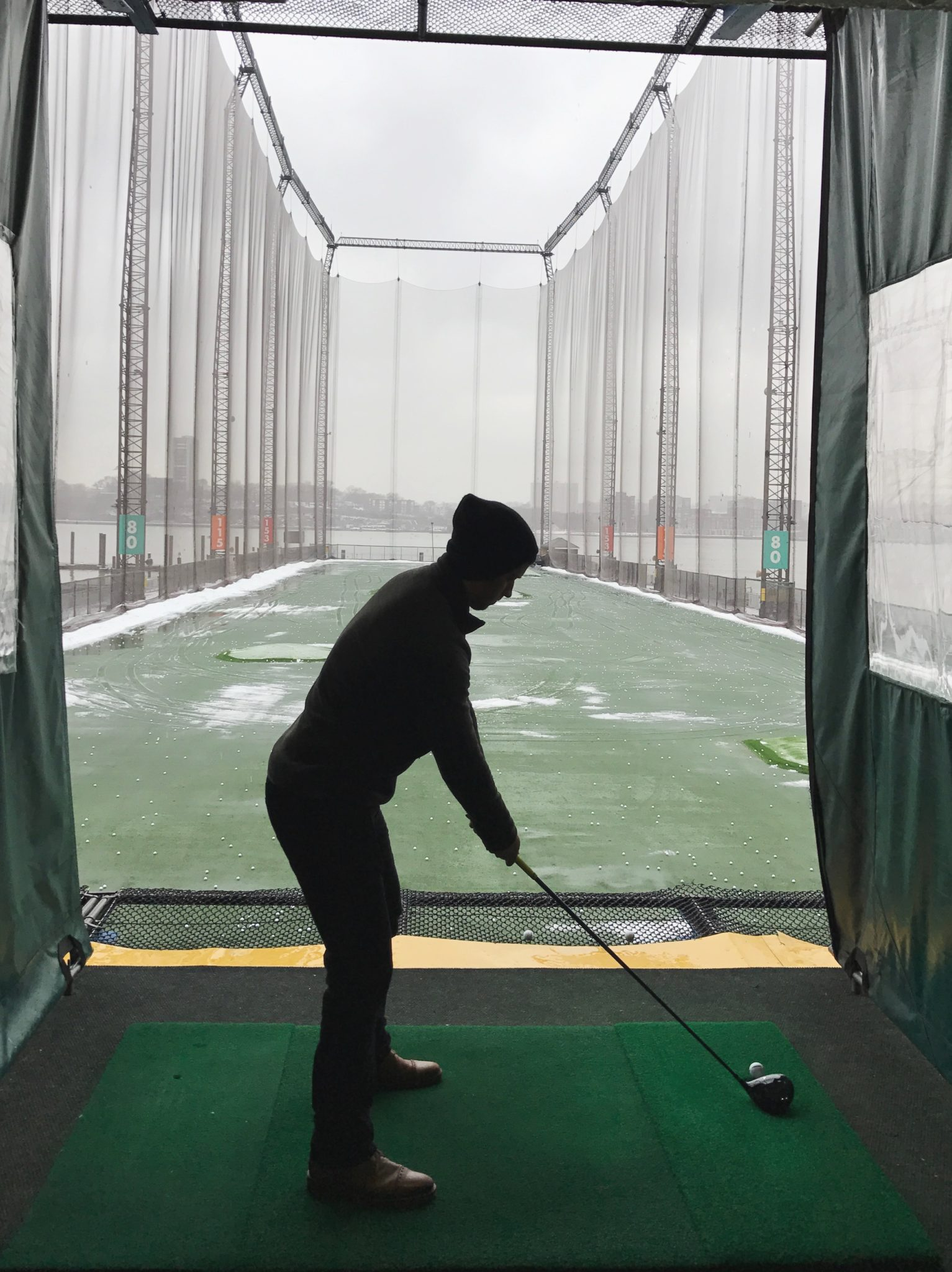 Driving Range at Chelsea Pier