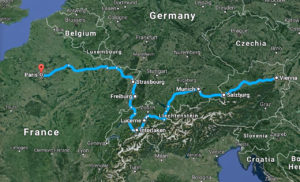 Central Europe Road Trip Map