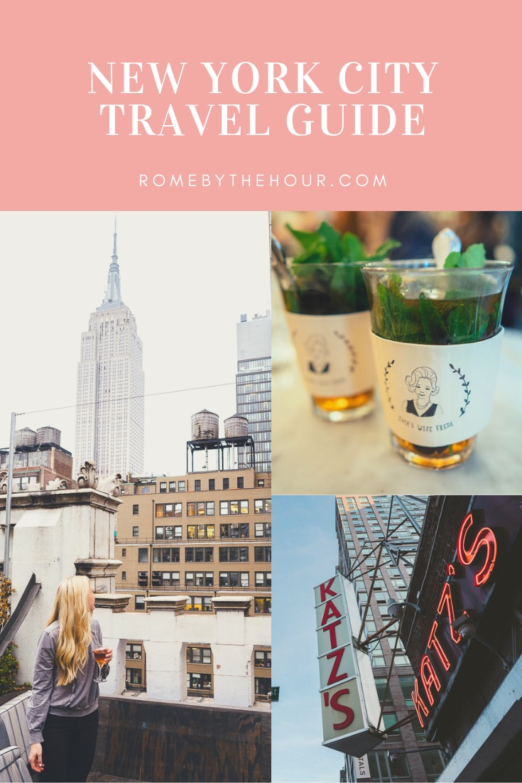 travel guide to New York city