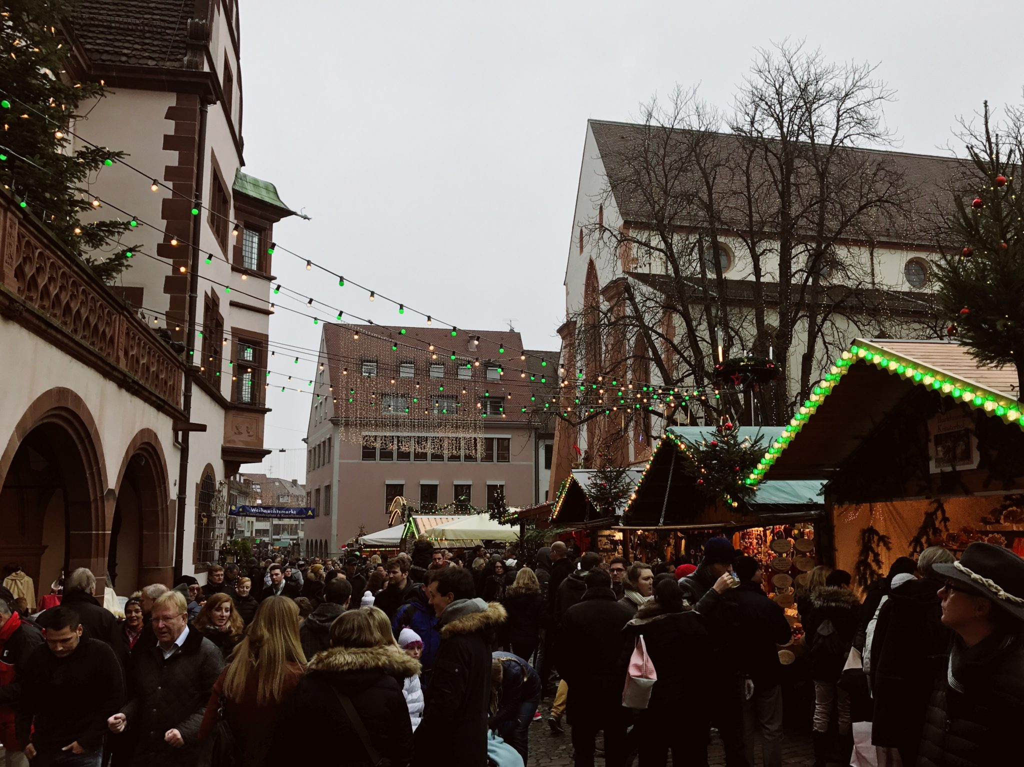 Christmas Market, Freiburg, Black Forest, Germany