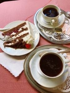 Black Forest Cake, Cafe Schafer