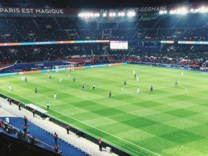 Paris Saint-Germain football game