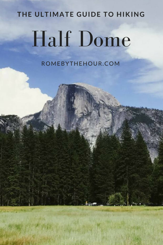Hiking Half Dome, Yosemite,