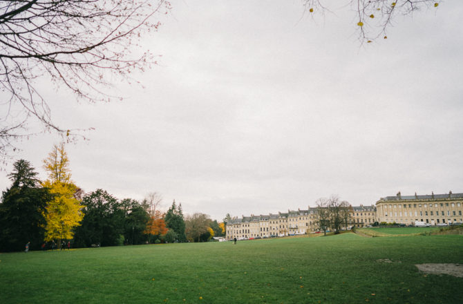 One Day in Bath, England