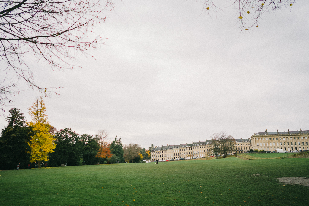 Bath, Somerset, Englang, Royal Crescent