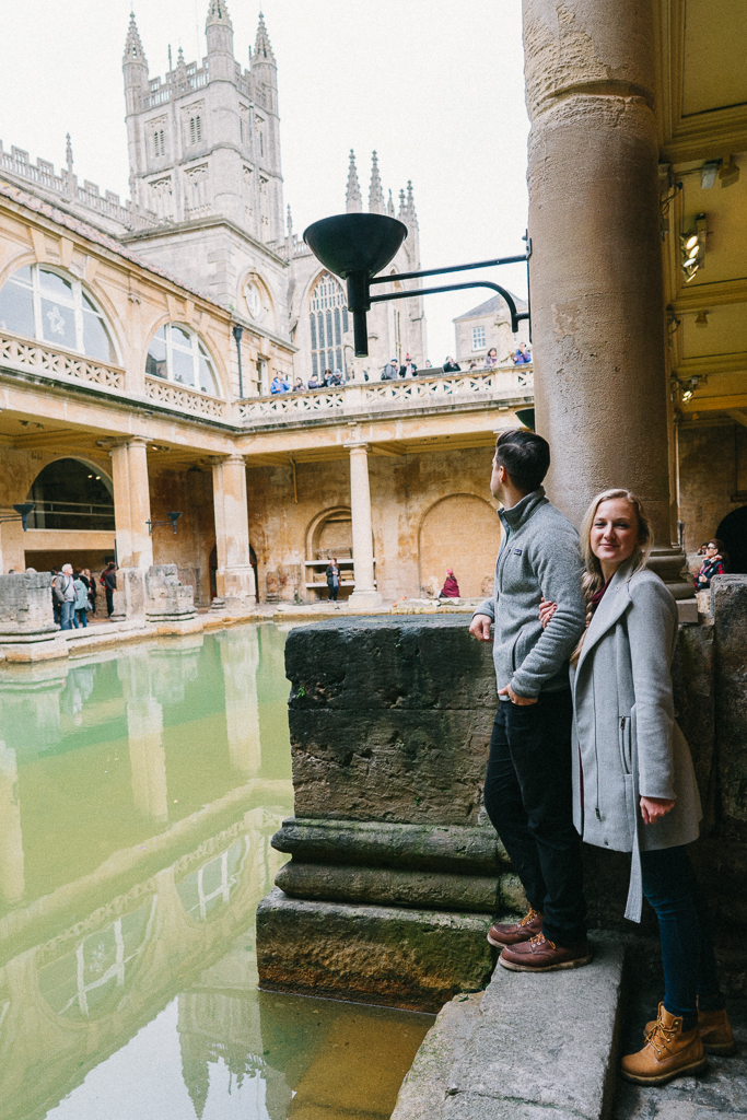 Roman baths, England, Somerset