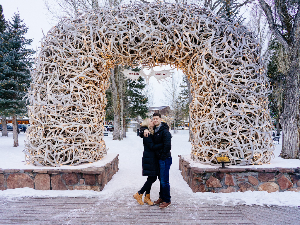 Antler Arches, Jackson Hole, WY