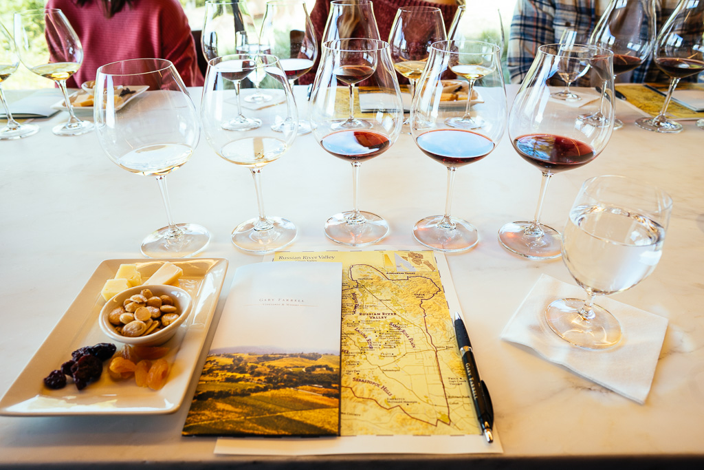 Where to wine taste in Healdsburg