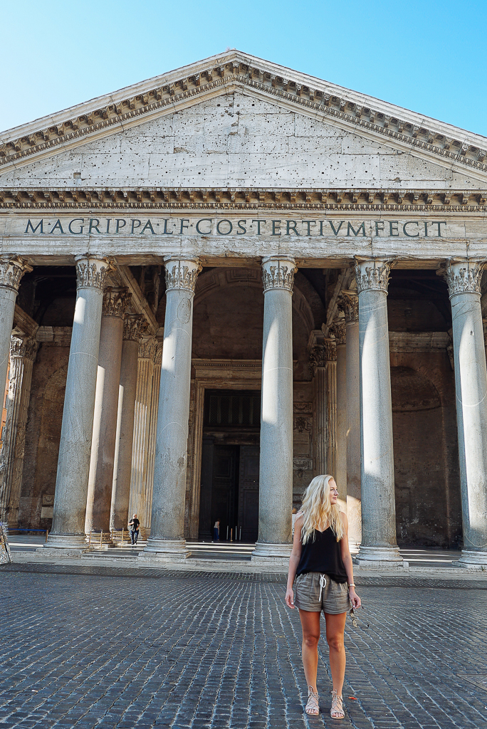 Pantheon, Roma, Travel Guide to Rome