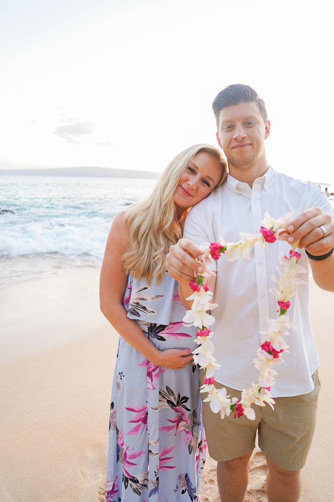 Maui Gender Reveal in Hawaii, Makena Cove