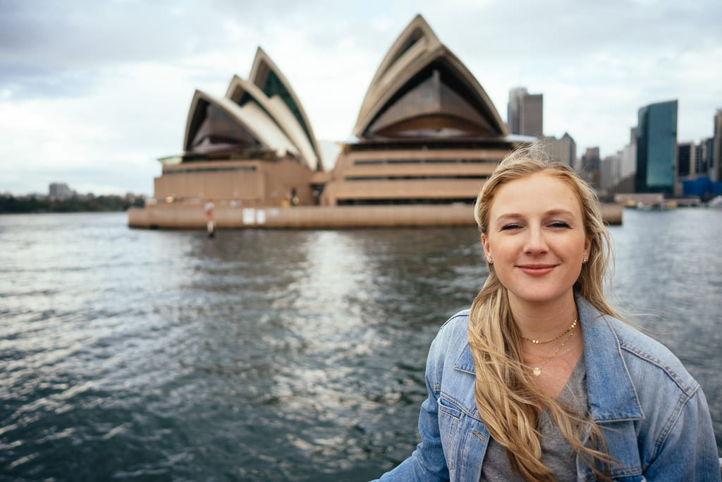 Ferry cruise in Sydney