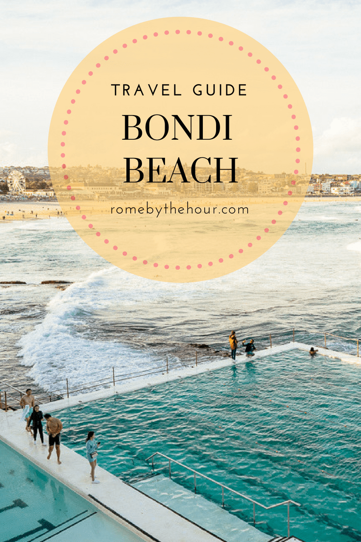 Bondi beach travel guide