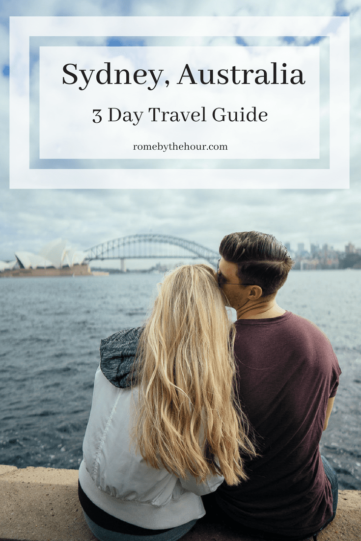 Travel guide Sydney