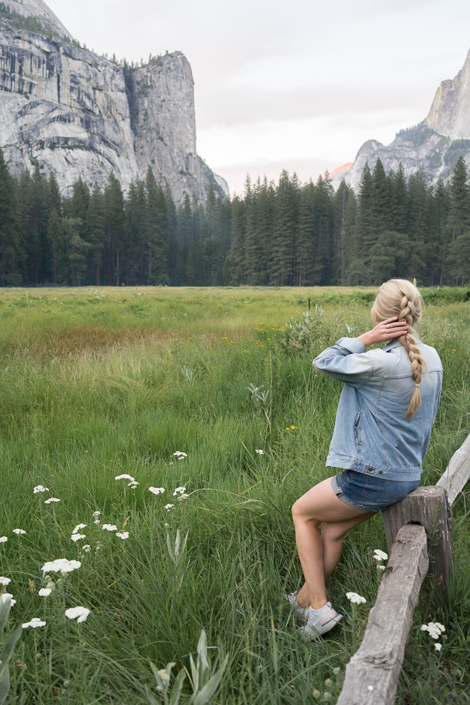 yosemite with a baby