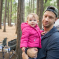 how to camp with a baby