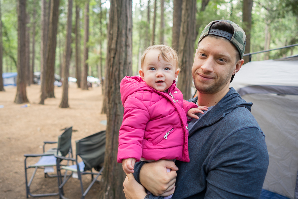 Camping with a Baby in Yosemite