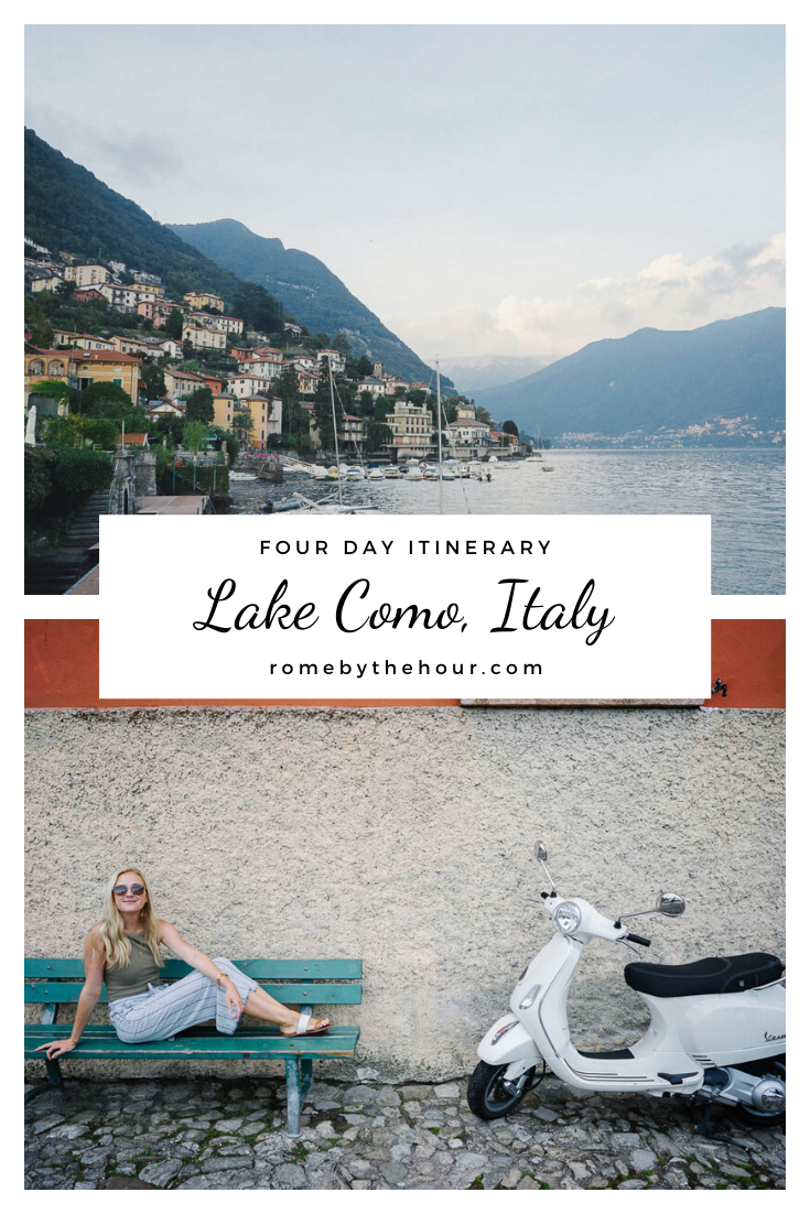 four days in lake como