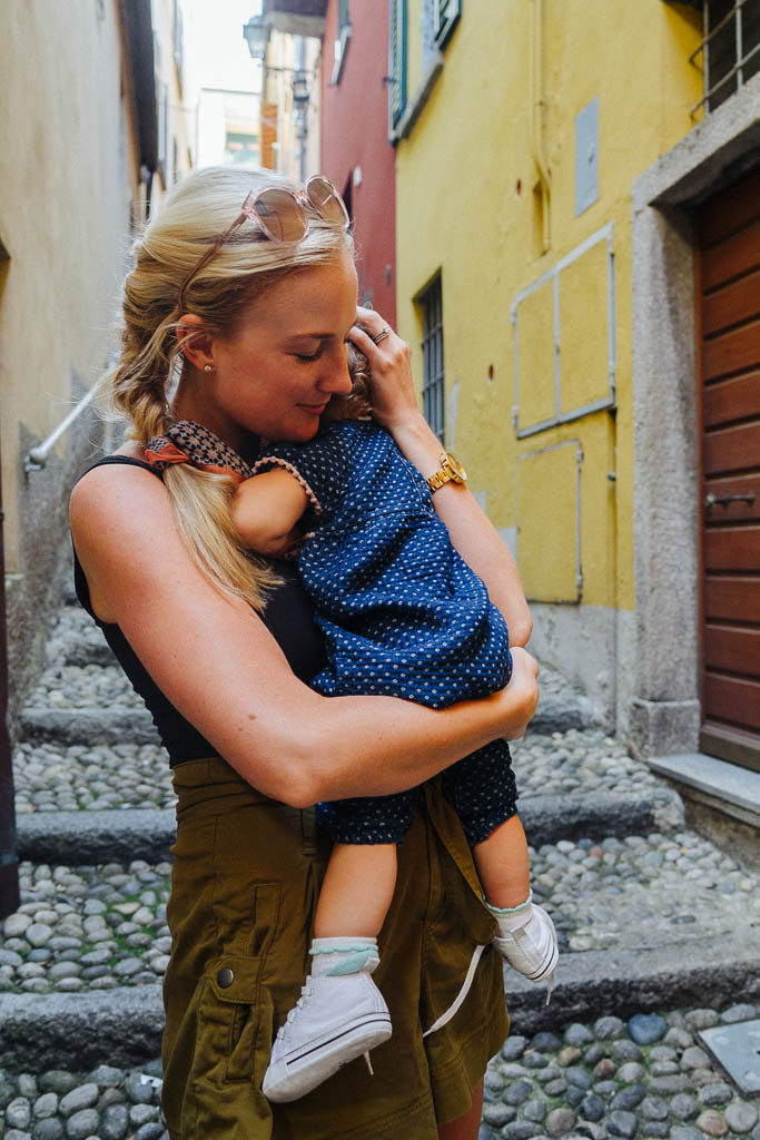 how to travel with a baby in italy