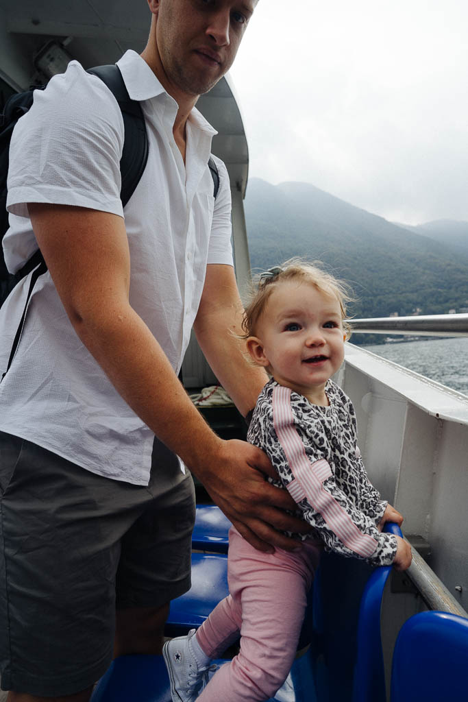 taking a baby to europe
