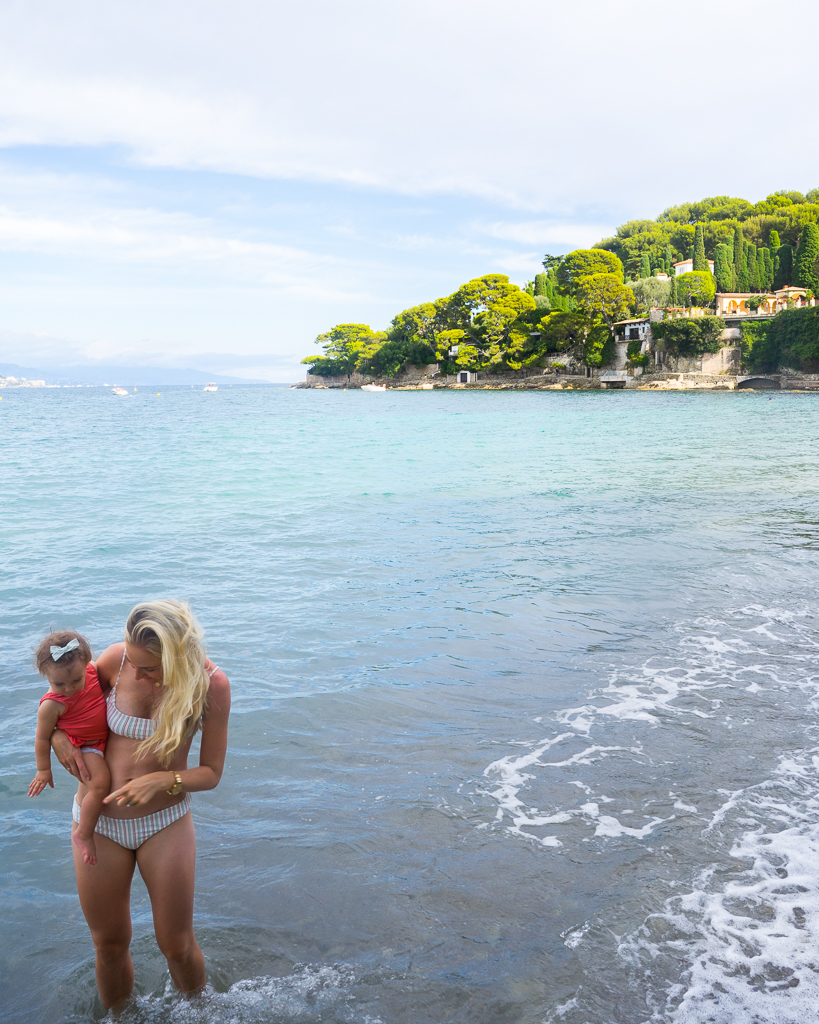Paloma beach in the south of france
