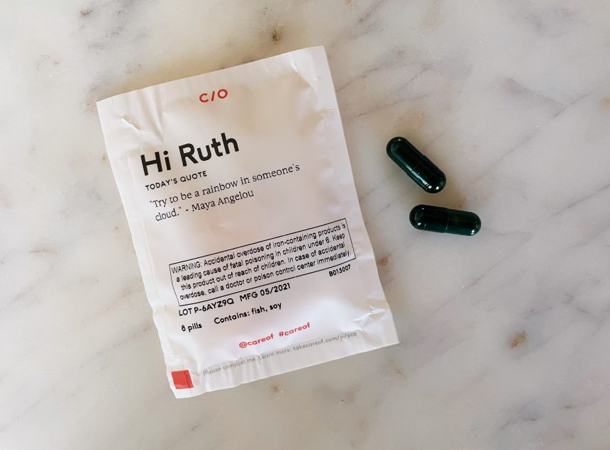 daily supplements with care/of