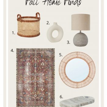 Fall Home Finds